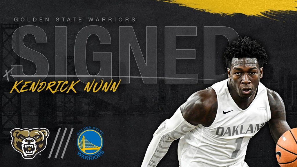 Oakland's Nunn agrees to deal with Golden State Warriors - Horizon